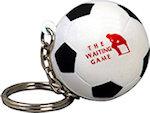 Soccer Ball Keyring Stress Balls